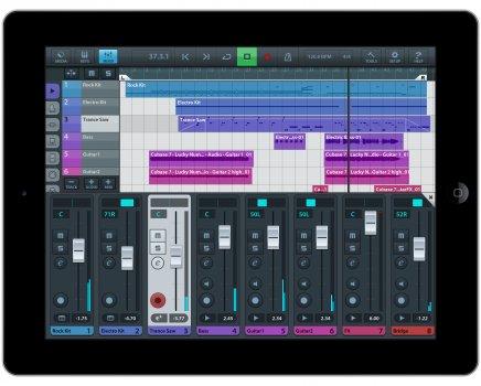 Создавать музыку на айпаде